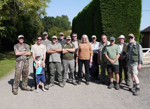 Participants before september 2012 barbel fish in