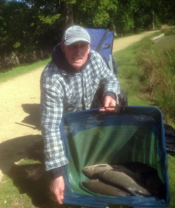 John Williams with Petworth Park Bream