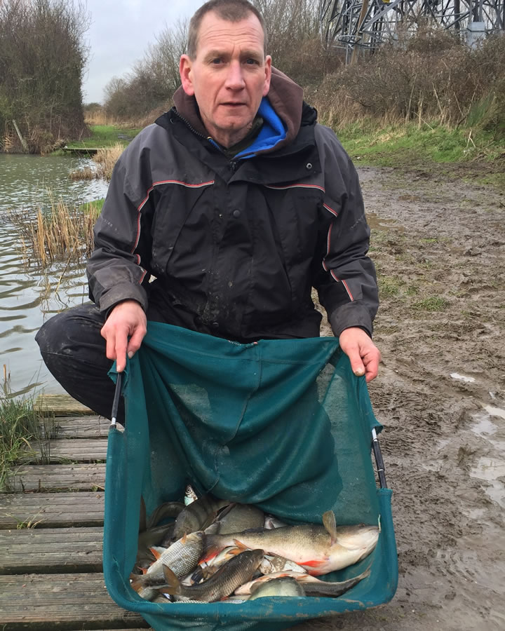 Keith had a couple of nice Perch at Passies
