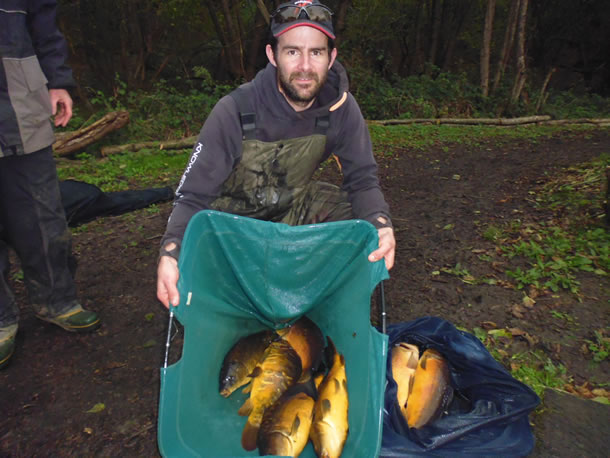 Kitch takes the 1st Leg with this bag of carp