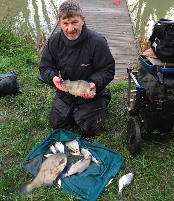 Steve with his Silvers