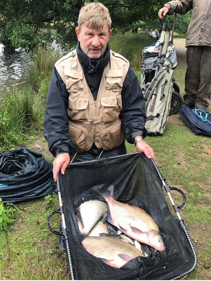 Runner Up Steve with no Carp!