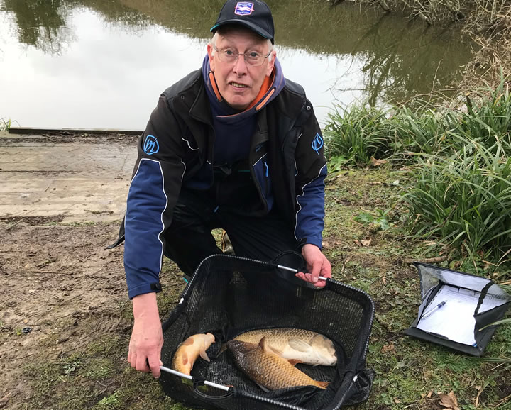 Some of Mick's carp from Peg 1