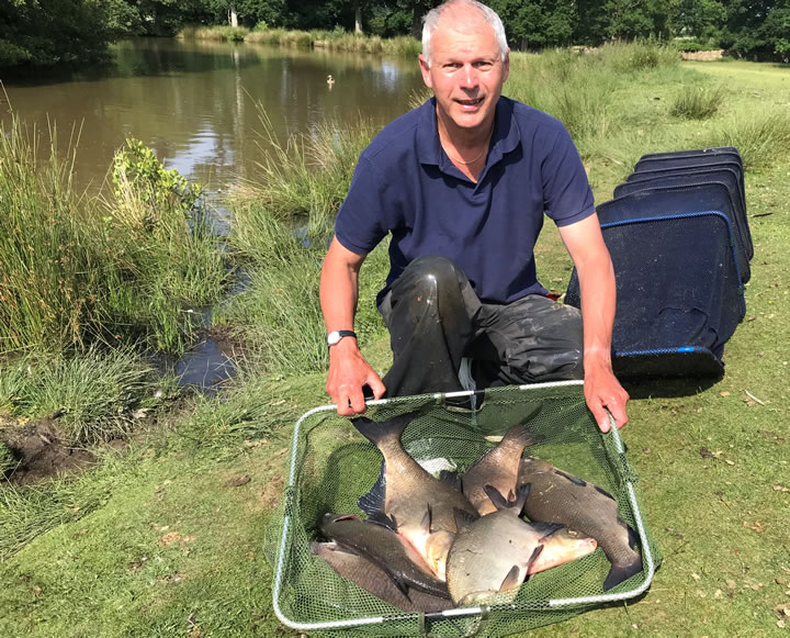 John found the bream in this 2nd leg match