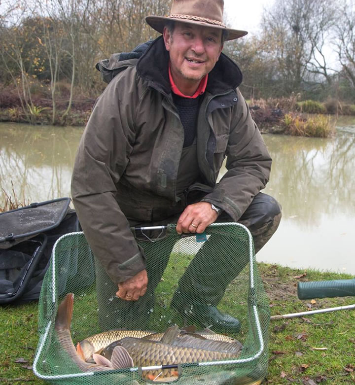 Steve used the feeder to land 8 carp including a double figure brute